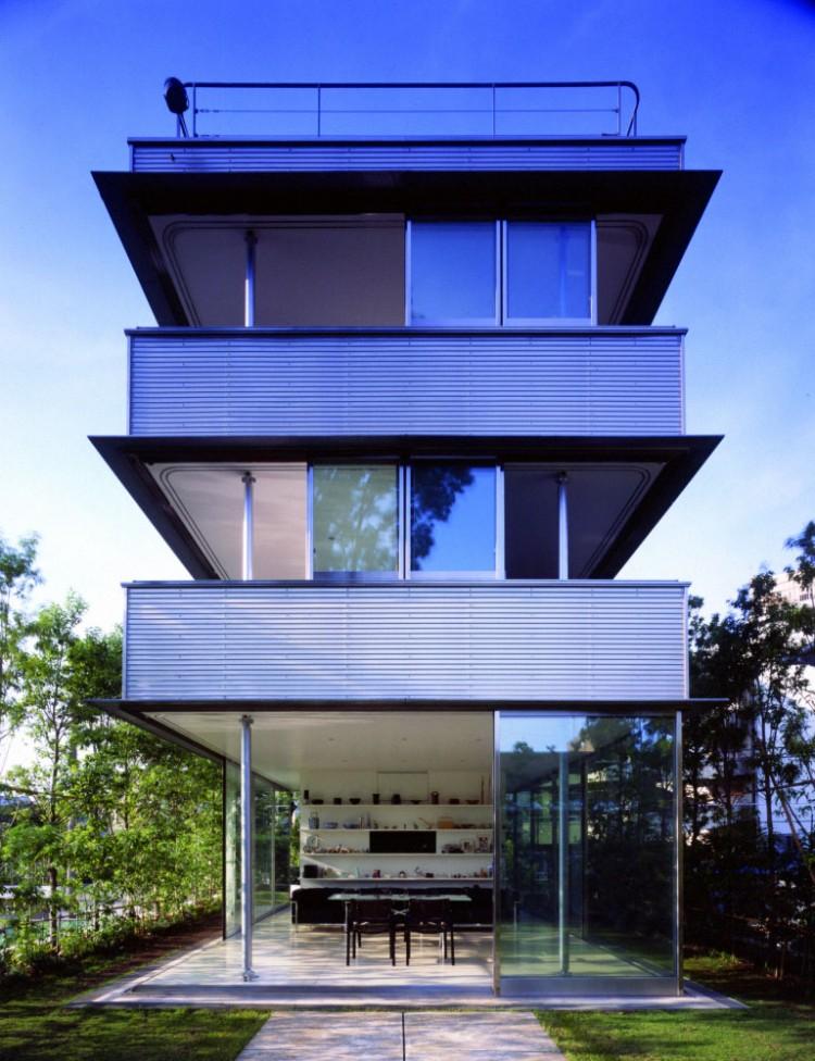 La casa senza pareti for Design della casa di 750 piedi quadrati