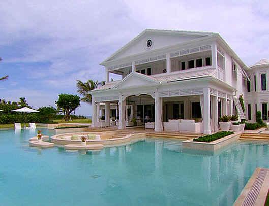Celebrities homes case vip for Ville americane interni