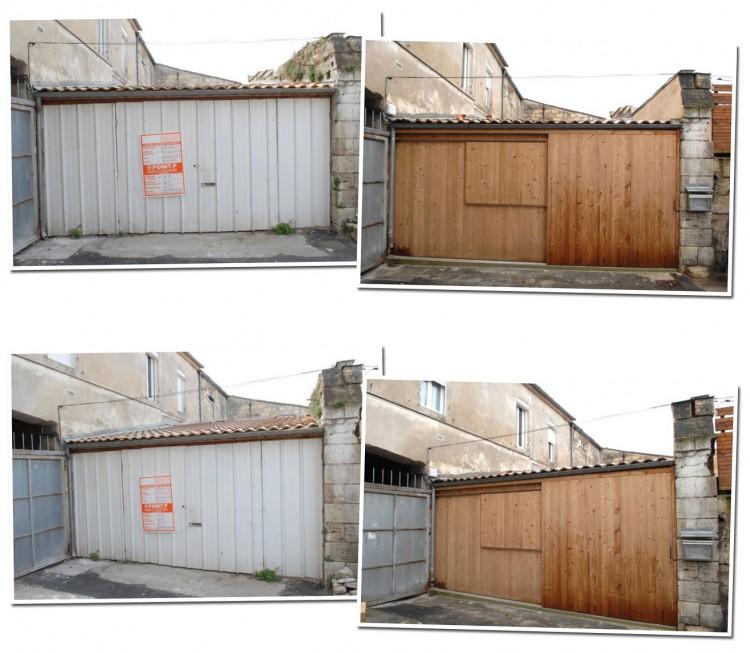 un garage trasformato in abitazione