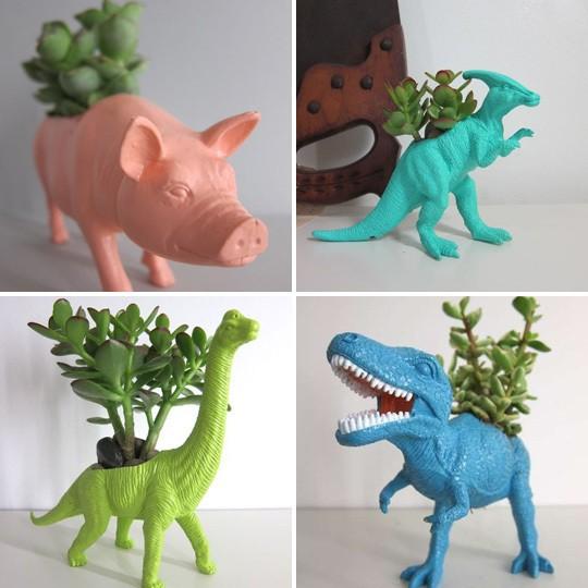 Quando la fantasia supera il fai da te il post - Porta piante fai da te ...