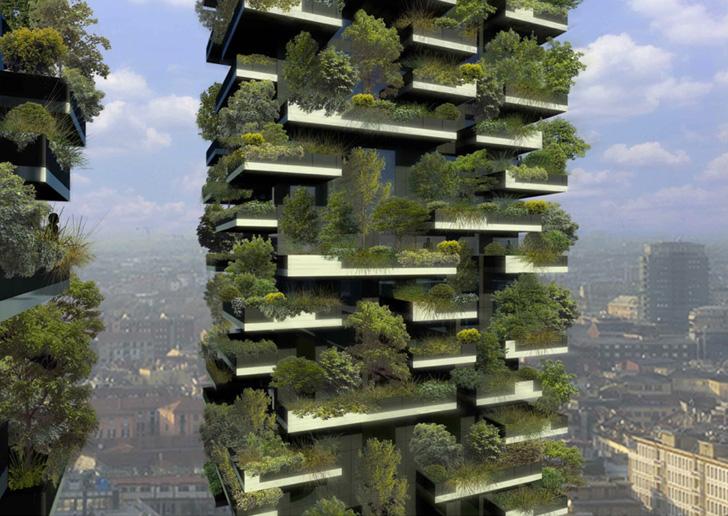 Mobile gardening e giardini verticali for Giardini verticali milano