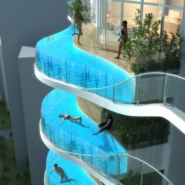 Glass-Balcony-Pools-at-Aquaria-Grande-Residential-0