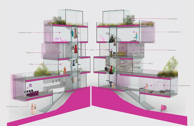 Anche la casa di barbie eco i consigli green di for Moderni piani di casa eco