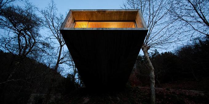 Casa ger s in portogallo una casa sospesa sul fiume for Piccoli piani di casa sul fiume