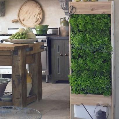 Giardini verticali domestici l 39 orto da cucina - Pannelli per giardini verticali ...