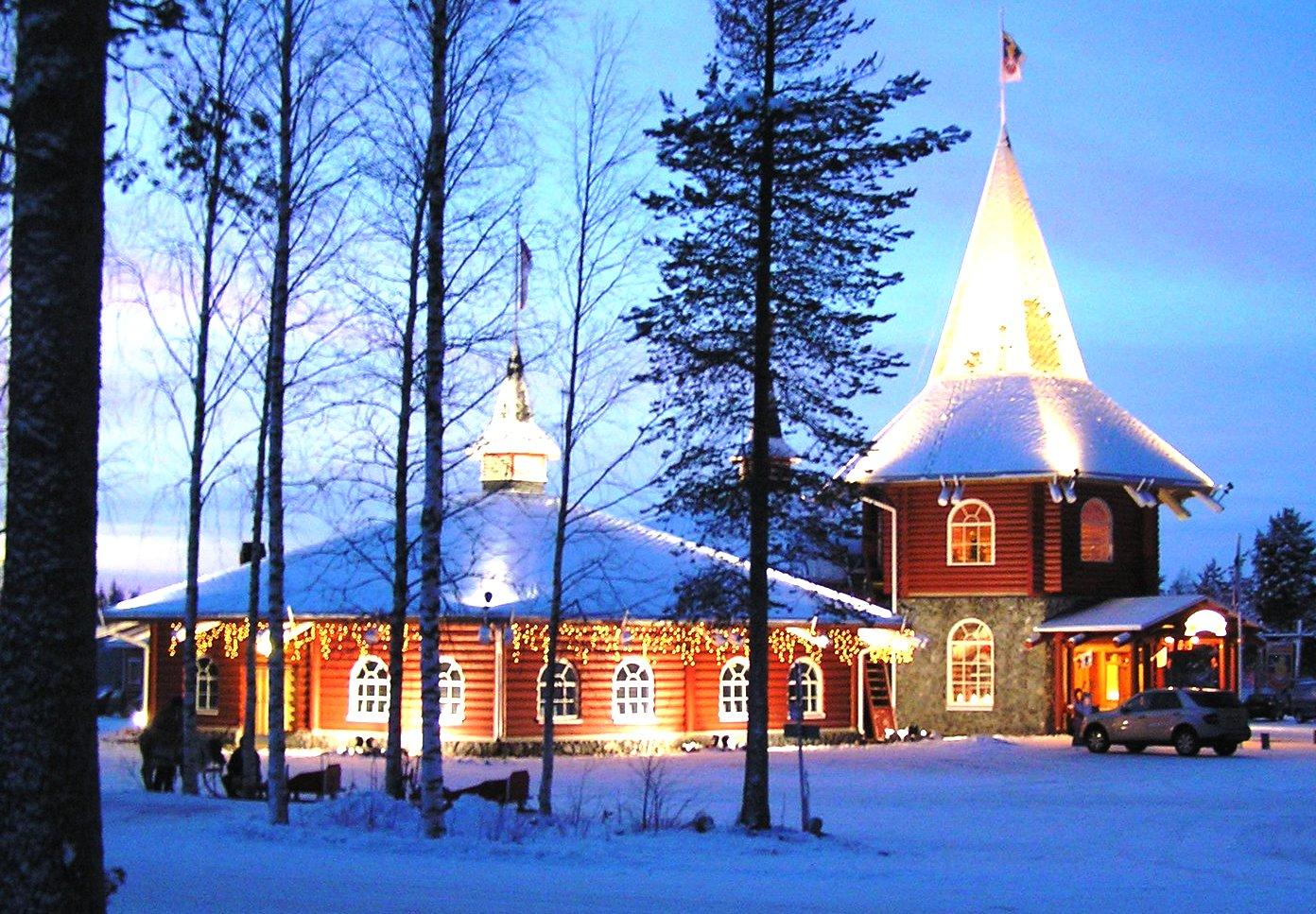 Abitazione Di Babbo Natale.La Vera Casa Di Babbo Natale E Le Sue Seconde Case Casa It