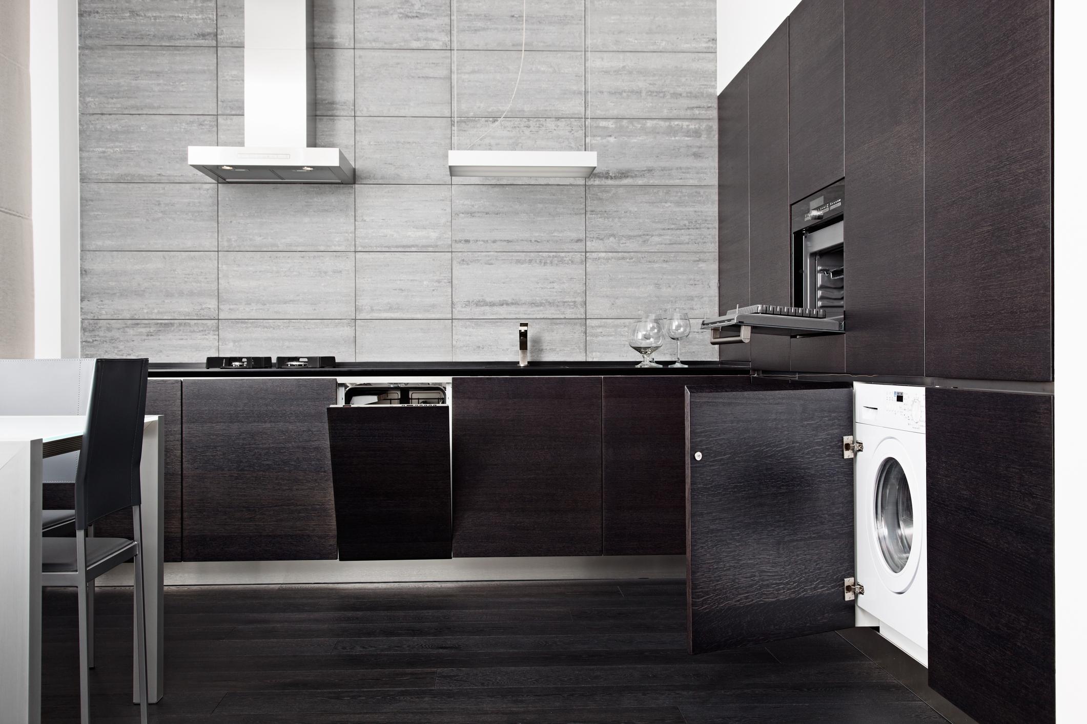 Lo spazio in casa per la lavatrice - Lavatrice cucina ...