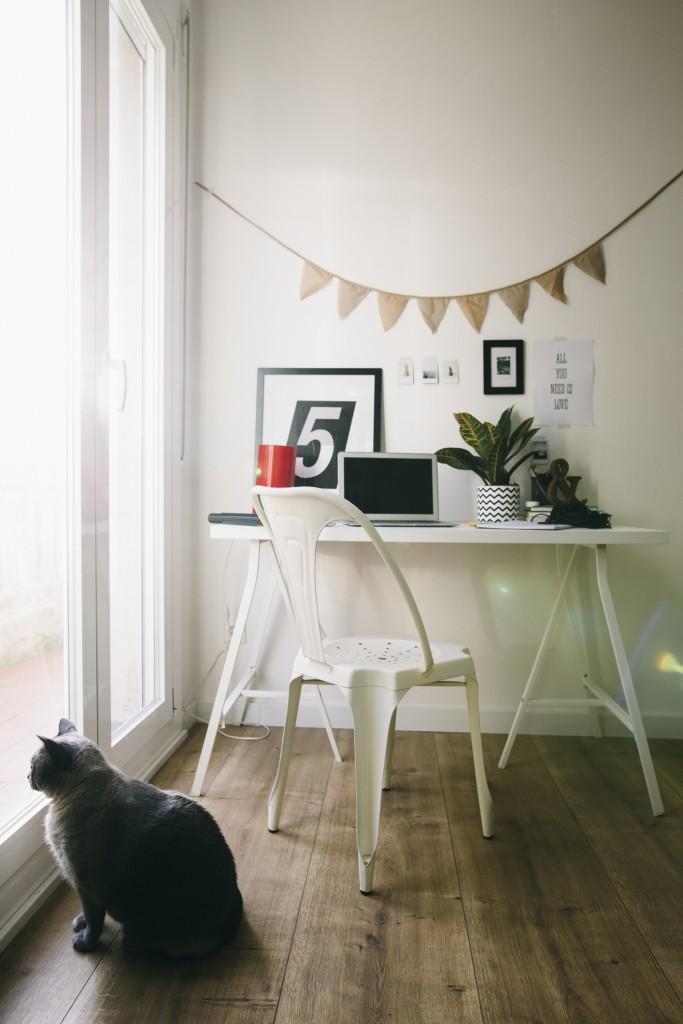scrivania cavalletti
