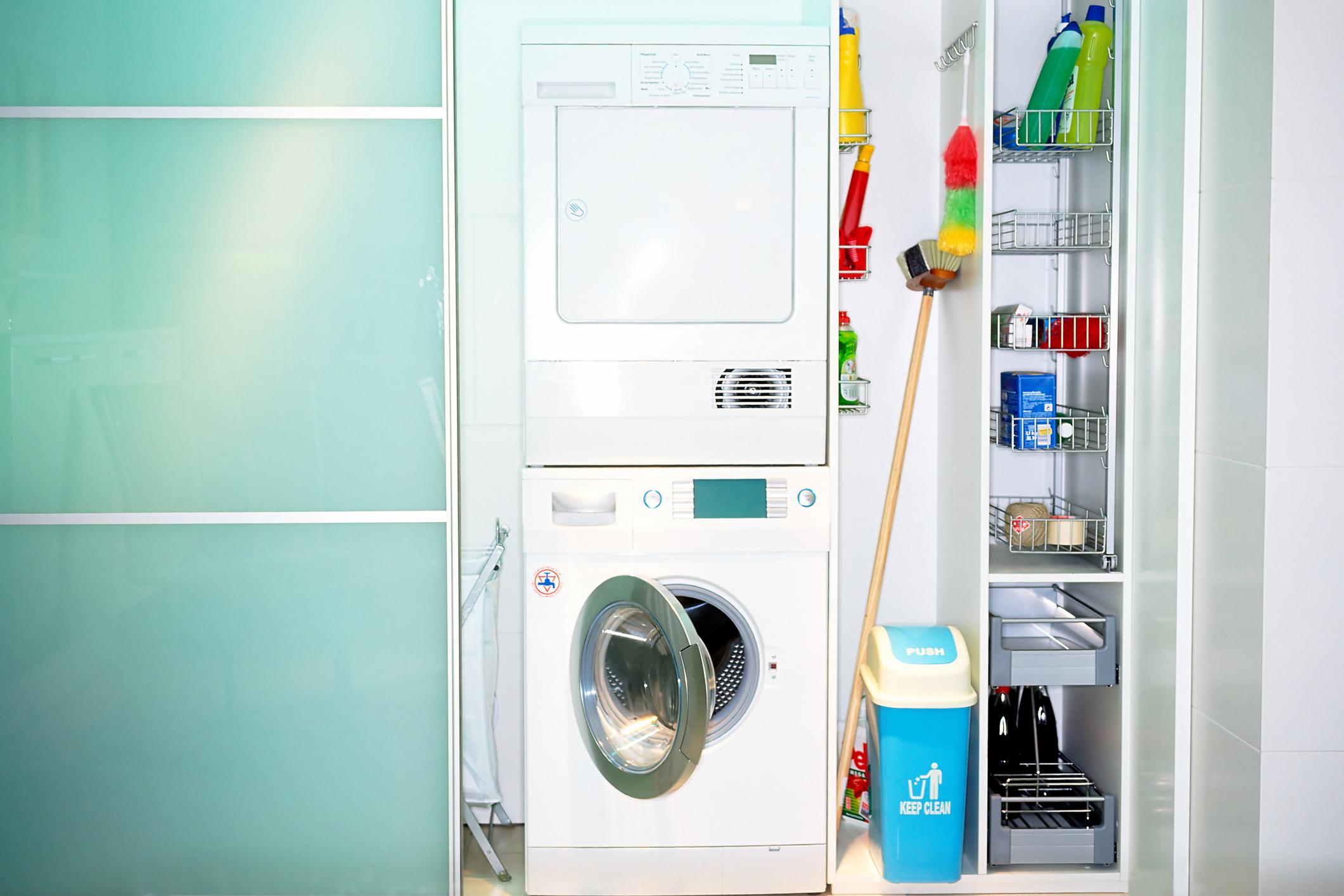 Asciugatrice Dentro Cabina Armadio lo spazio in casa per la lavatrice - casa.it