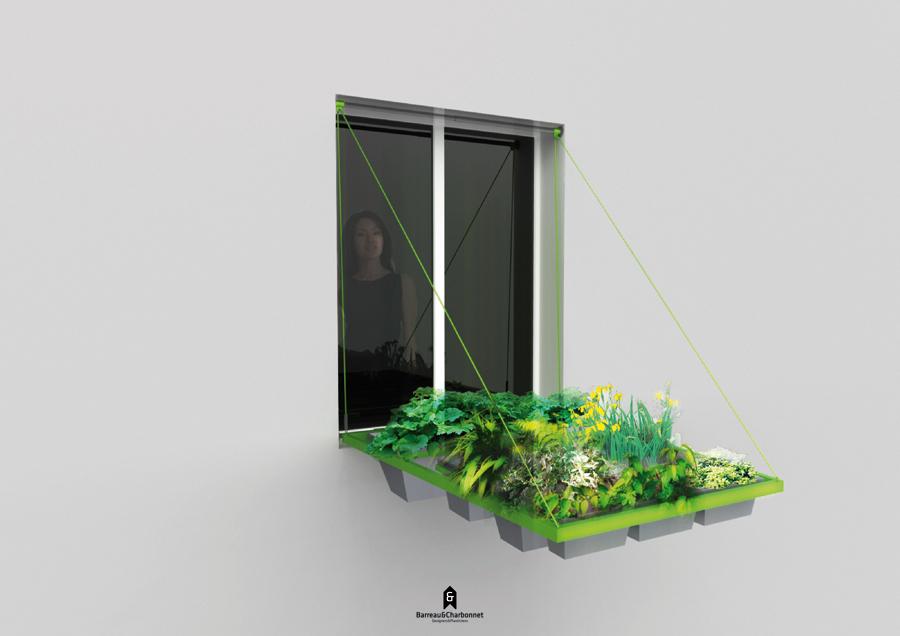 La finestra fatta di piante - Fioriere per davanzale finestra ...