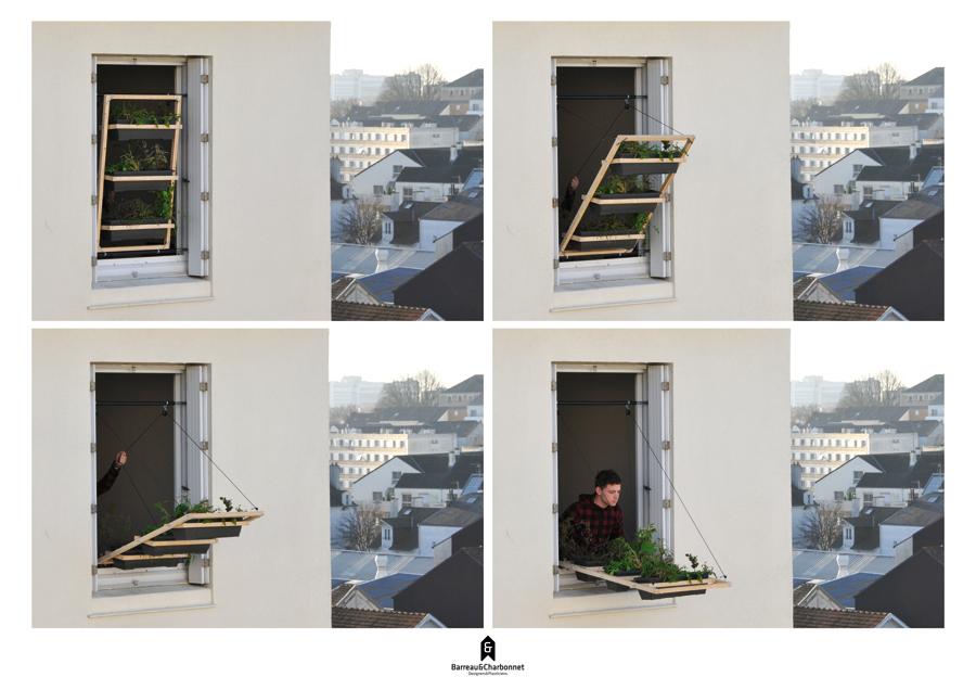 La finestra fatta di piante - Montare una finestra ...