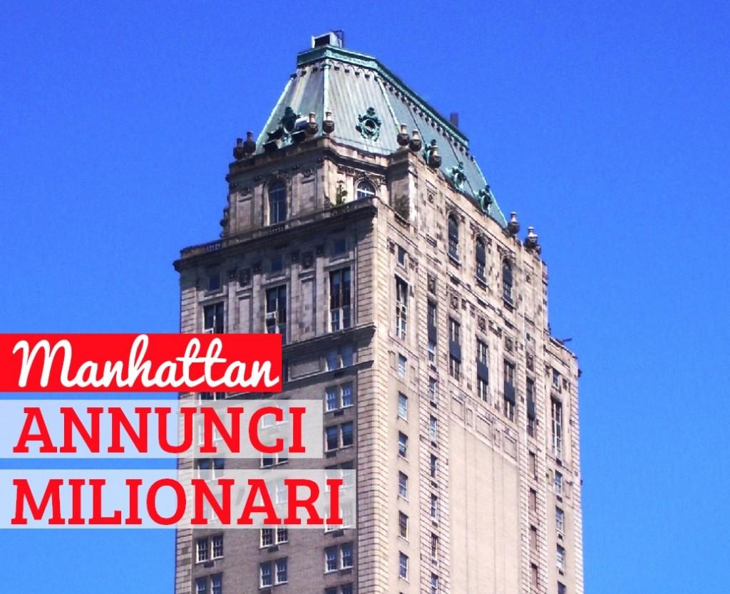 125 milioni l 39 attico con vista central park for Comprare casa a new york manhattan