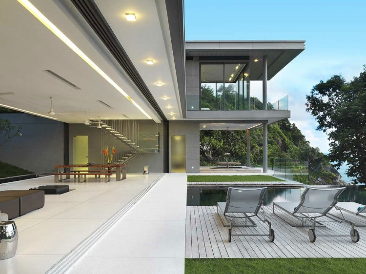 Camera Da Letto Con Piscina E Vista Mare Natura Design : Lusso vista mare casa