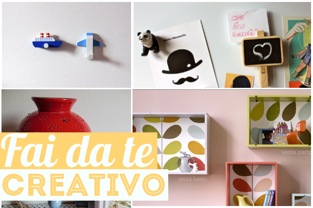 Do it yourself il fai da te creativo per una casa for Fai da te oggetti creativi