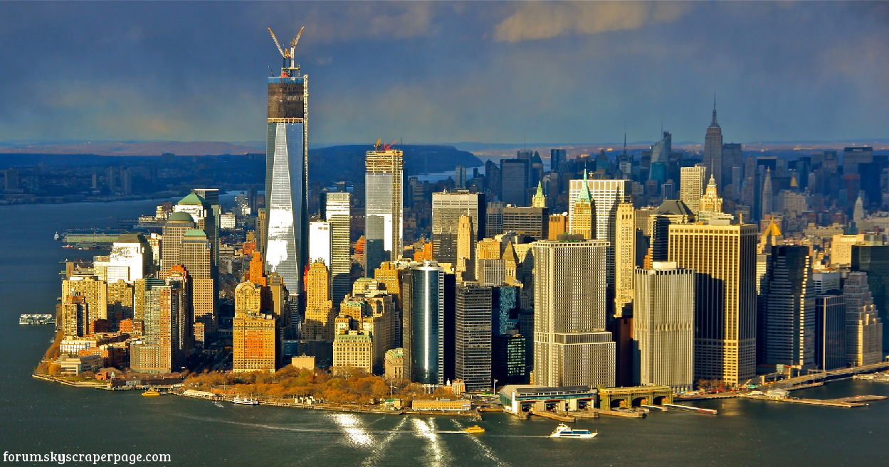 One world trade center a new york il grattacielo pi alto for Grattacielo piu alto di italia