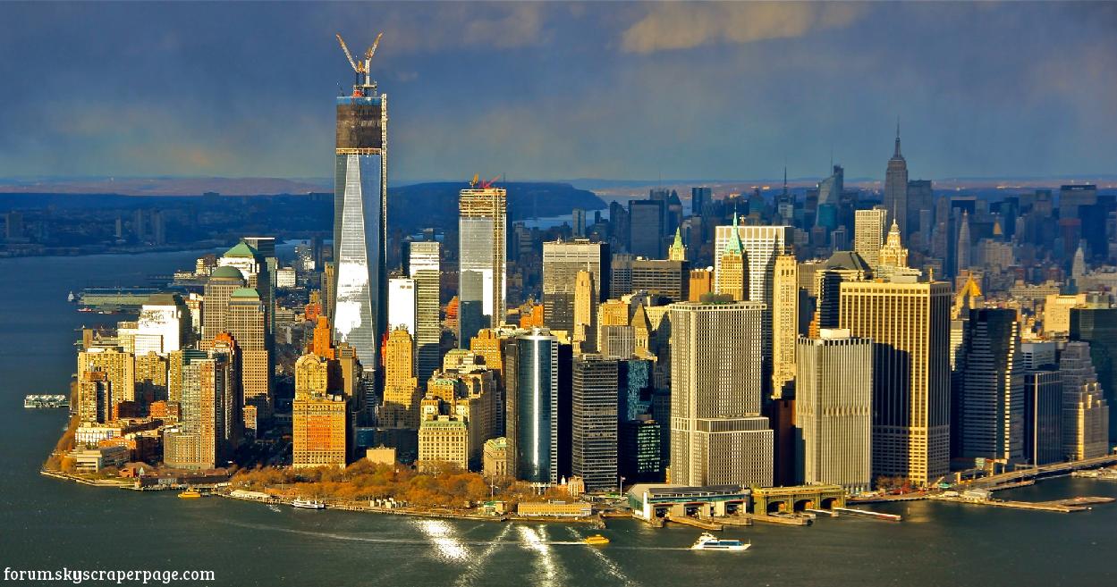 One world trade center a new york il grattacielo pi alto for Immagini grattacieli di new york