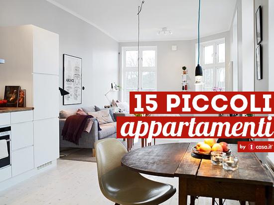 15 piccoli appartamenti idee per arredare piccoli spazi for Piccoli mobili design