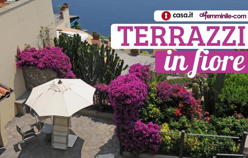 Contest fotografico terrazzi in fiore for Terrazzi con piante e fiori