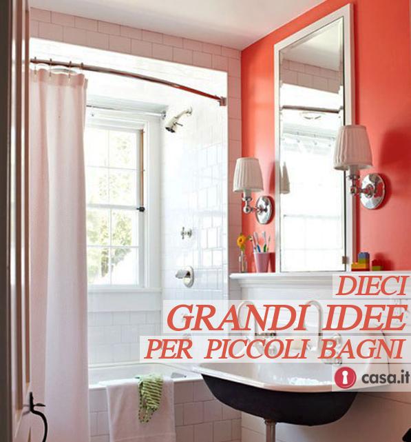 10 grandi idee per arredare un piccolo bagno for Idee per arredare un bagno piccolo