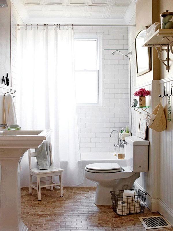 10 grandi idee per arredare un piccolo bagno - Idee per bagno piccolo ...