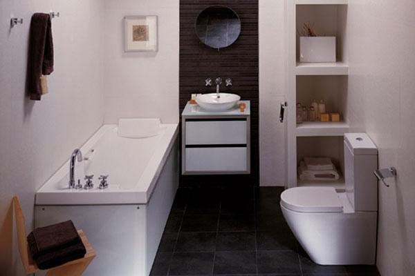 Grandi idee per arredare un piccolo bagno casa