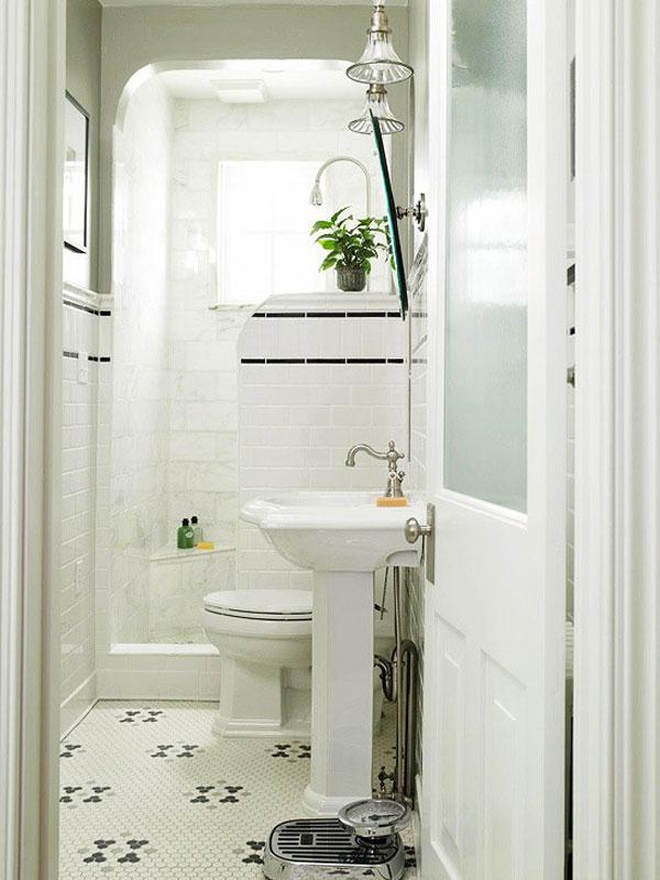 10 grandi idee per arredare un piccolo bagno - Arredare un piccolo bagno ...