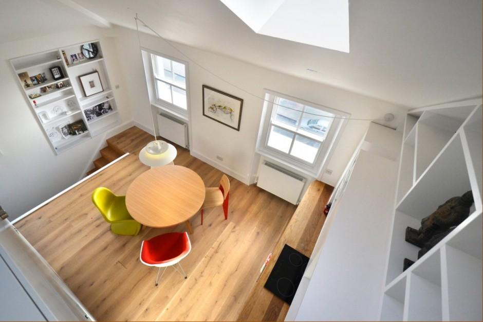 Un piccolo grande loft 4 ambienti in meno di 40 mq - Mezzanine verlichting ...