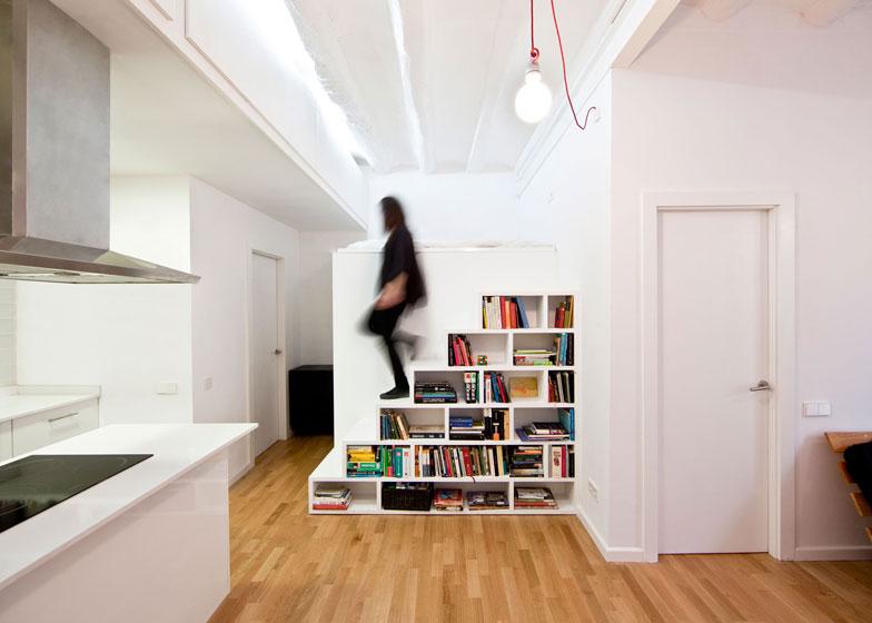 come arredare un monolocale. Black Bedroom Furniture Sets. Home Design Ideas