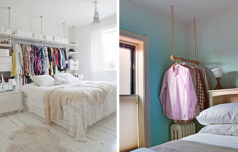 Armadio o guardaroba 10 idee adatte ad ogni tipo di ambiente - Soluzioni salvaspazio camera da letto ...
