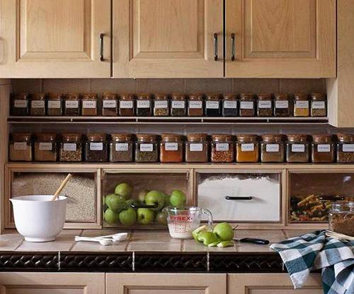 Idee Cucina In Ordine : Idee per tenere in ordine la cucina casa