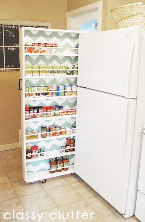 Idee Salvaspazio Cucina. Simple Come Ottimizzare Lo Spazio In Una ...