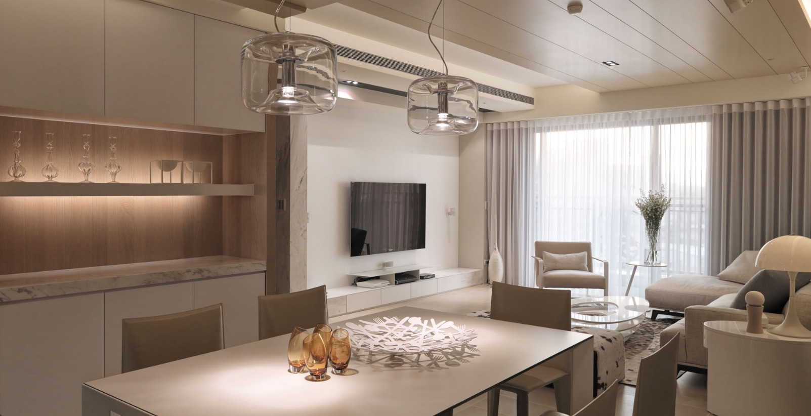 Mini appartamenti 5 soluzioni sorprendenti dai 40 ai 50 for Foto case arredate moderne