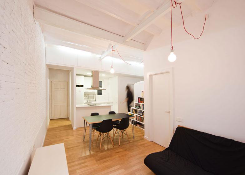 Mini appartamenti 5 soluzioni sorprendenti dai 40 ai 50 for Case ristrutturate da architetti foto