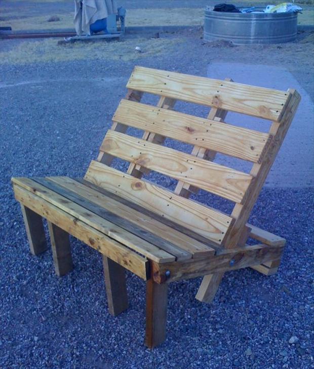 33 modi originali di riciclare i pallets - Wooden art mobili ...