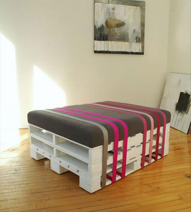 Célèbre 33 modi originali di riciclare i pallets - Casa.it ZI24