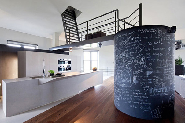 Una casa nell 39 ex torre dell 39 acquedotto for Casa home belgique