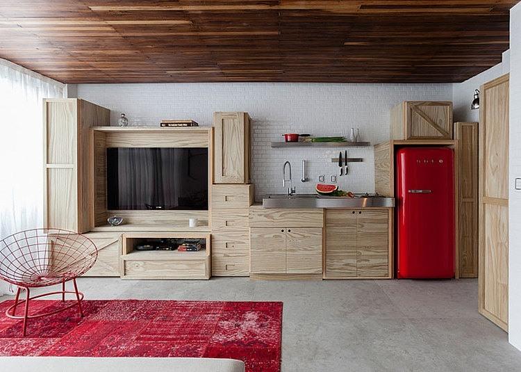 38 mq spettacolari una ristrutturazione che ha reso un for Appartement 45m2 design