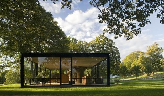 La casa di vetro for Casa di vetro contemporanea