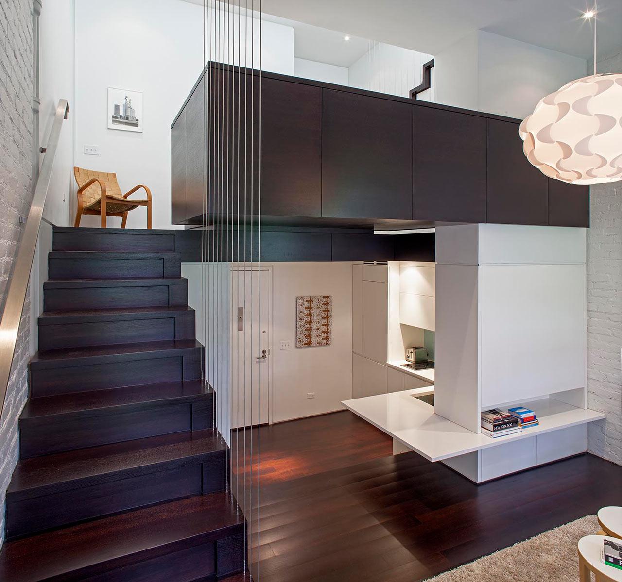 Da monolocale a microloft la straordinaria trasformazione for Monolocale con 1 camera da letto