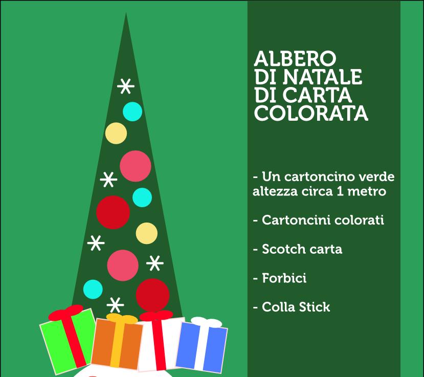 albero di Natale dei bambini
