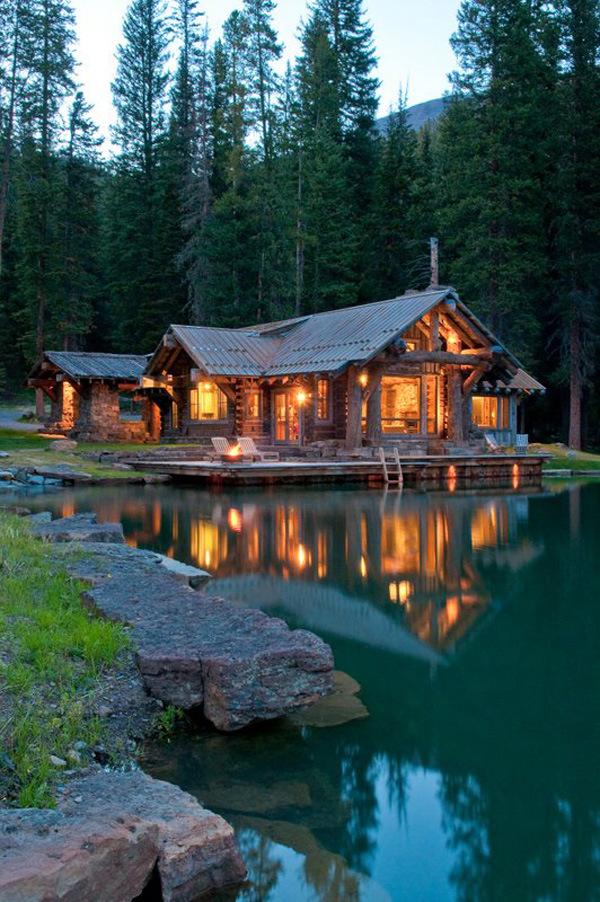 Un paradiso in montagna for Laghetto in casa