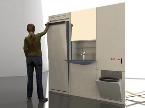 Bagni Piccolissimi Soluzioni : Soluzioni estreme per bagni piccoli casa.it