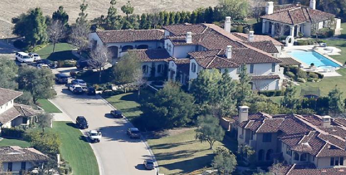casa di Justin Bieber