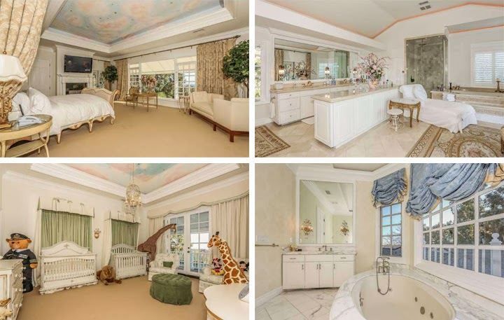 Mariah carey vende la straordinaria villa di bel air for Bel design della casa