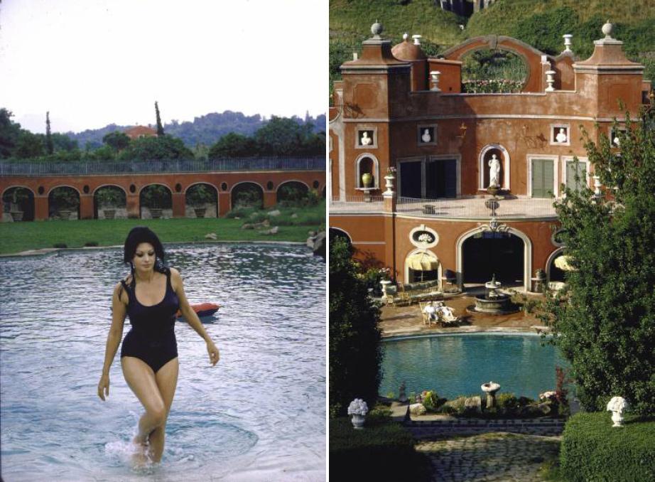 Nella casa pi bella della mondo la villa di sofia for Case vip roma