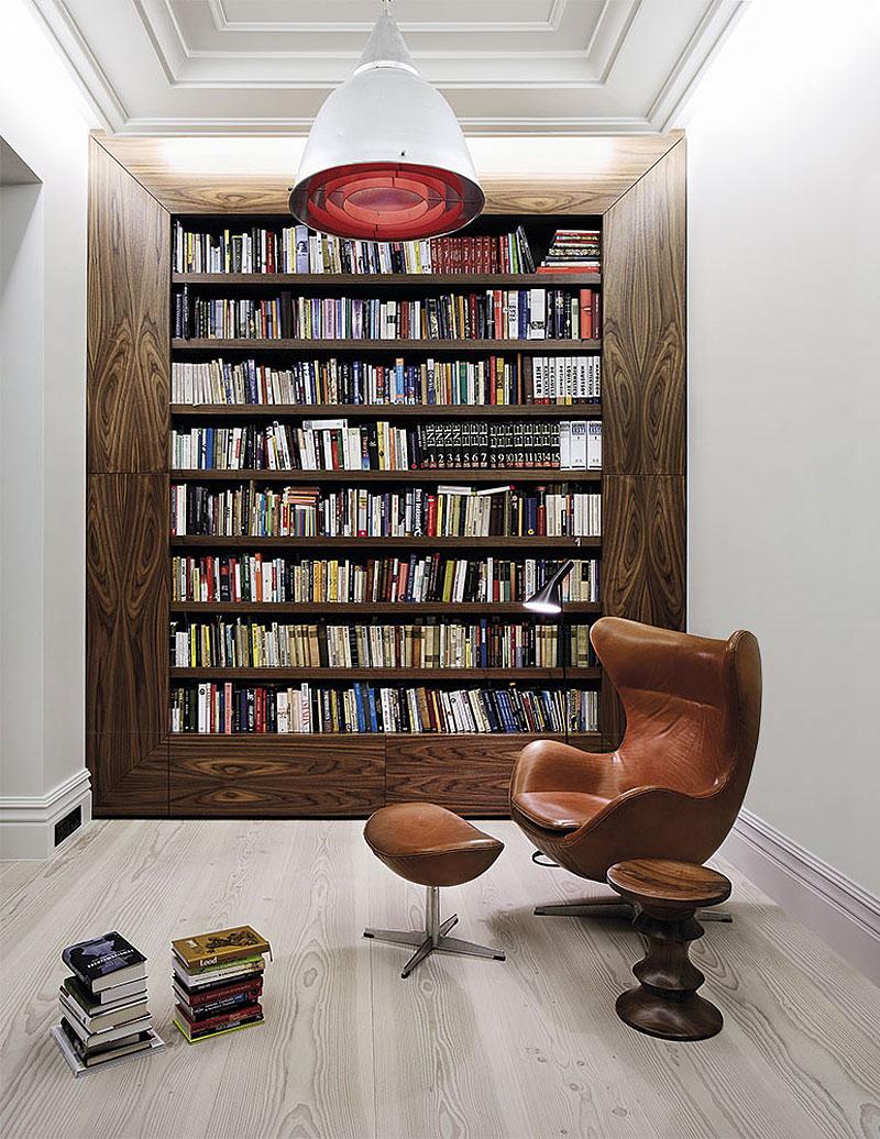 Bianco e nero un mix minimal di eleganza e raffinatezza - Mobiliario para libreria ...
