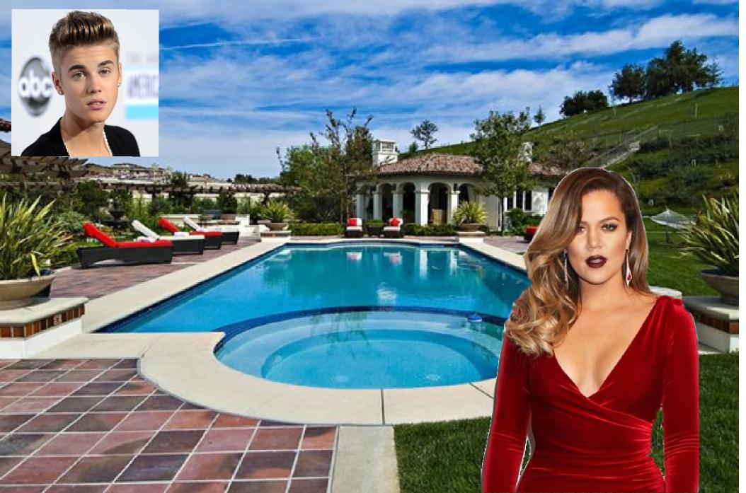 khloe kardashian compra la villa di justin bieber - casa.it - Arredamento Casa Kardashian