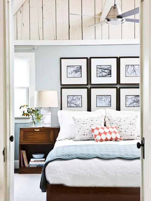 Come cambiare casa senza muoversi da casa - Quadri sopra testata letto ...