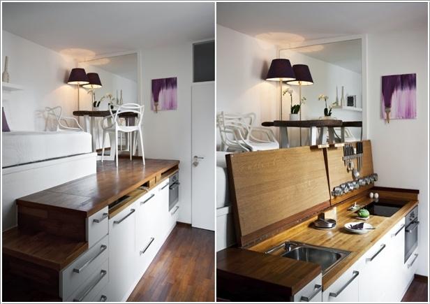 5 geniali soluzioni salva spazio for Case piccole soluzioni
