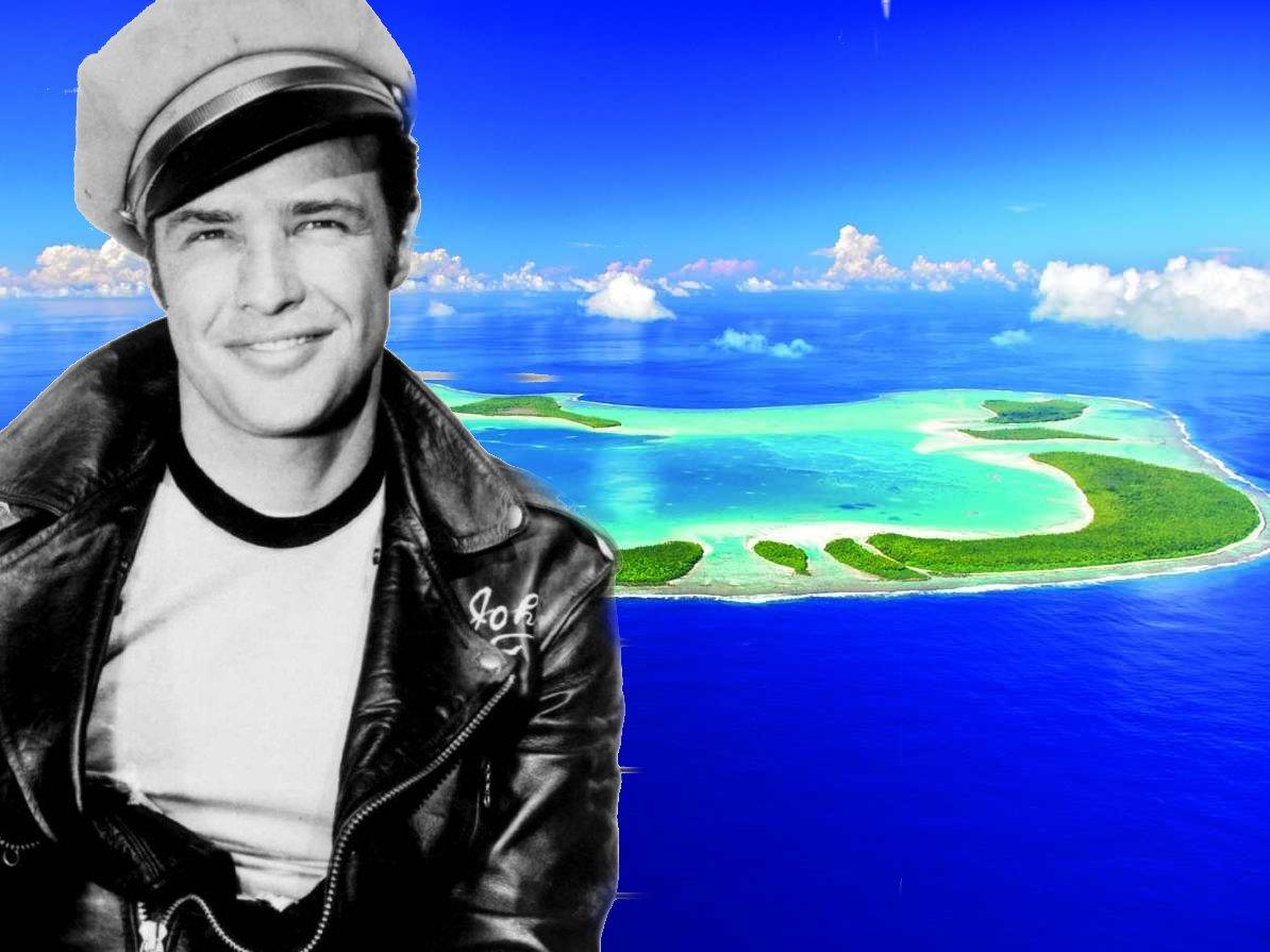 isola privata di Marlon Brando